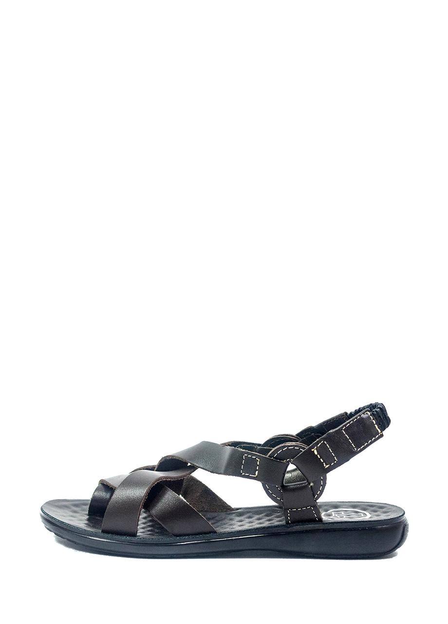 Сандалии женские TiBet 275-03-02 темно-коричневые (36)