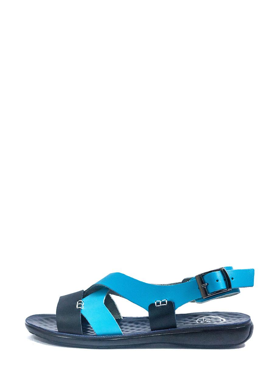 Сандалии женские TiBet 235-03-22 сине-голубой (36)