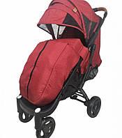 Прогулочная коляска Yoya Plus Max - детская коляска трость для путешествий, розовый