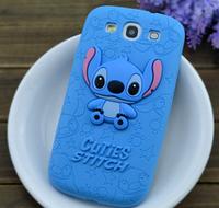 """Силиконовый чехол """"Stitch"""" для Samsung Galaxy S3 i9300"""