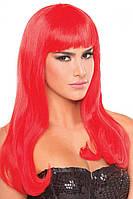 Парик эротический длинные красные для ролевых игр Be Wicked Wigs Pop Diva Wig Сексшоп