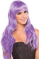 Парик эротический длинные фиолетовые для ролевых игр Be Wicked Wigs Burlesque Wig Сексшоп