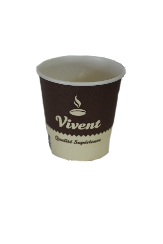 Стаканчики бумажные Vivent  175 мл. (50 шт.)