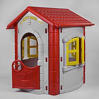 Домик Pilsan 06-098 Серый с Красным