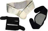 Турмалиновый комплект (накладка на шею, пояс, наколенники) + подарок глазная повязка!!!