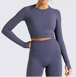 Жіночі спортивний костюм (рашгард + лосини) для занять спортом, фітнесом, йогою