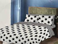 Двуспальный комплект постельного белья евро 200*220 хлопок (14718) TM KRISPOL Украина