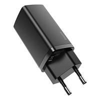 СЗУ Baseus GaN2 Lite Quick Charger C+U 65W Black