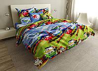 Детский комплект постельного белья 150*220 хлопок (17017) TM KRISPOL Украина