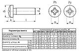 Гвинт М3х10 (цинк білий) з циліндричною закругленою головкою (DIN 7985), фото 2