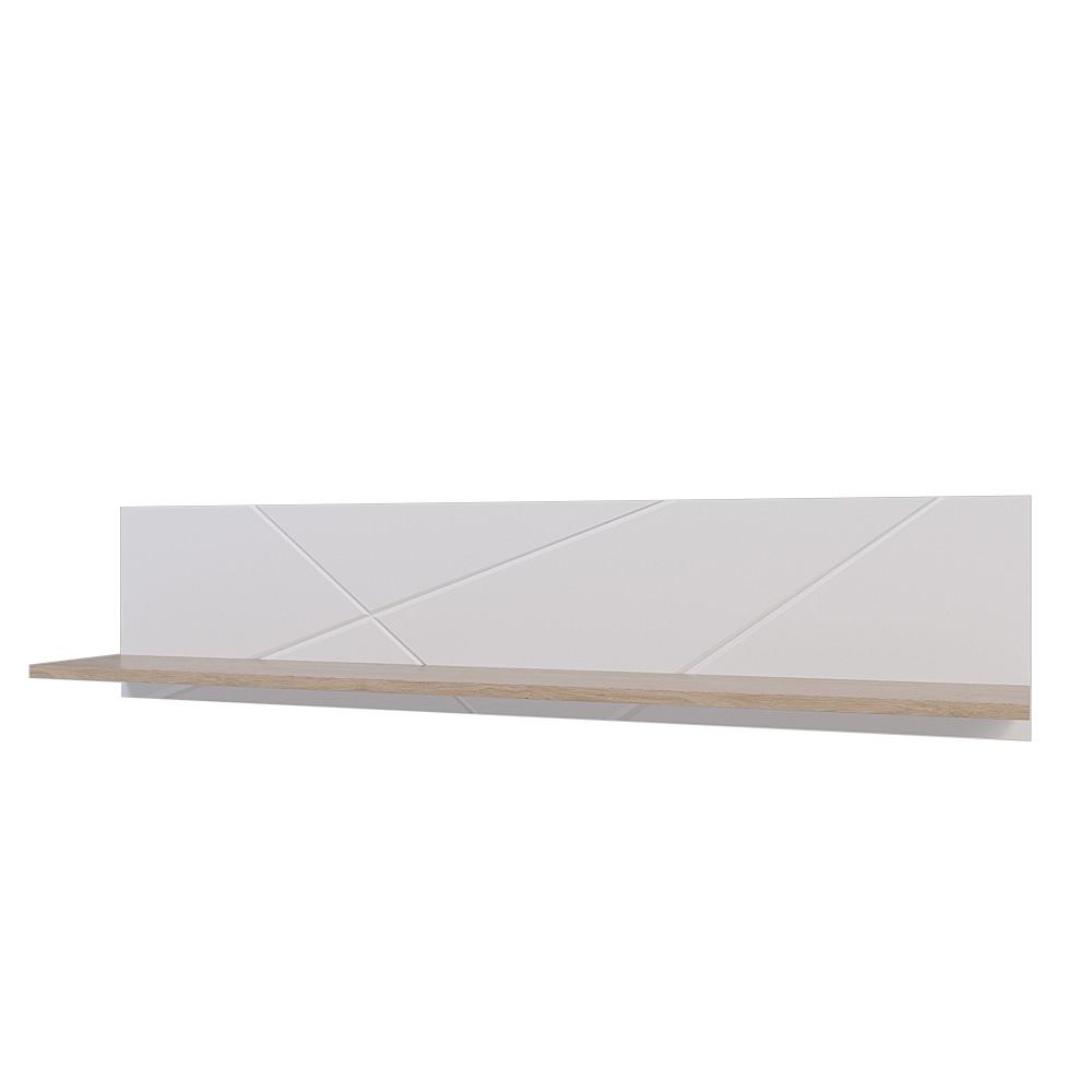 Полка универсльная Х-Скаут Х-14 белый мат/дуб