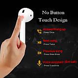 Бездротові навушники i18 TWS в стилі Apple AirPods сенсорні блютуз навушники, фото 4