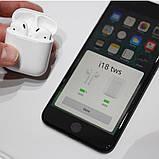 Бездротові навушники i18 TWS в стилі Apple AirPods сенсорні блютуз навушники, фото 5