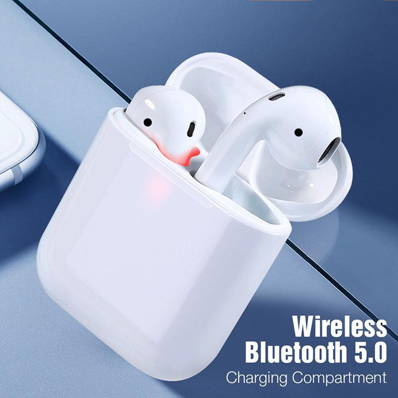 Бездротові навушники i18 TWS в стилі Apple AirPods сенсорні блютуз навушники