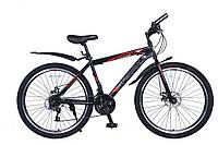 Велосипед SPARK FORESTER 26-ST-19-ZV-D (Черный с красным)