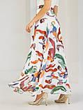 Шифоновая юбка-макси с цветочным принтом  ЛЕТО, фото 8