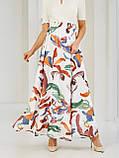 Шифоновая юбка-макси с цветочным принтом  ЛЕТО, фото 7