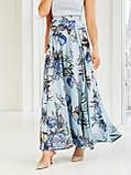 Шифоновая юбка-макси с цветочным принтом  ЛЕТО, фото 10