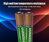 Аккумулятор DURACELL Recharge AAA/(HR03) 850mAh Ni-Mh 1.2v Мини-пальчиковая батарейка в Блистере, 4ШТ, фото 6