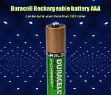 Аккумулятор DURACELL Recharge AAA/(HR03) 850mAh Ni-Mh 1.2v Мини-пальчиковая батарейка в Блистере, 4ШТ, фото 7