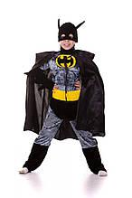 Бэтмен карнавальный костюм на мальчика \ Размер 120-130 \ MS - СК-235-334