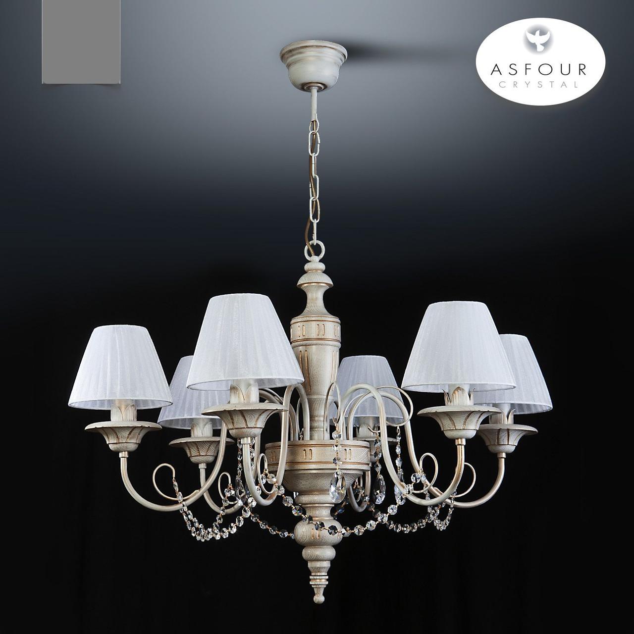 Люстра 6-ти ламповая с хрусталем  18006-1