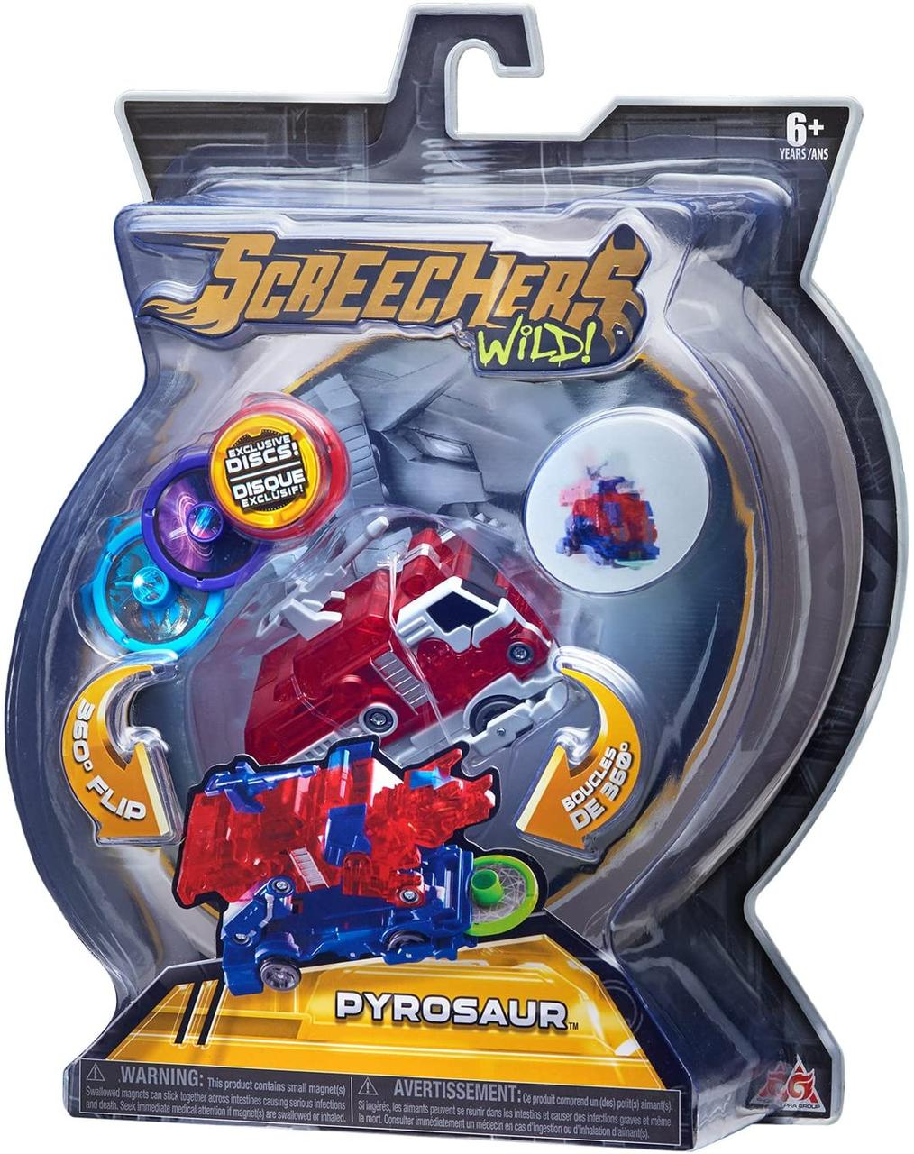 Дикі Скричеры Пирозавр, Pyrosaur Screechers Wild L-2 (оригінал США)