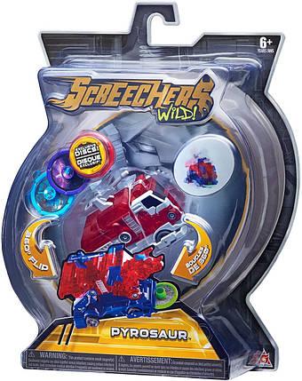 Дикі Скричеры Пирозавр, Pyrosaur Screechers Wild L-2 (оригінал США), фото 2