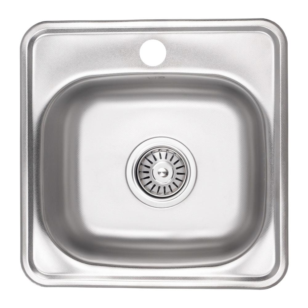 Кухонна мийка Lidz 3838 Decor 0,6 мм (LIDZ3838DEC06)