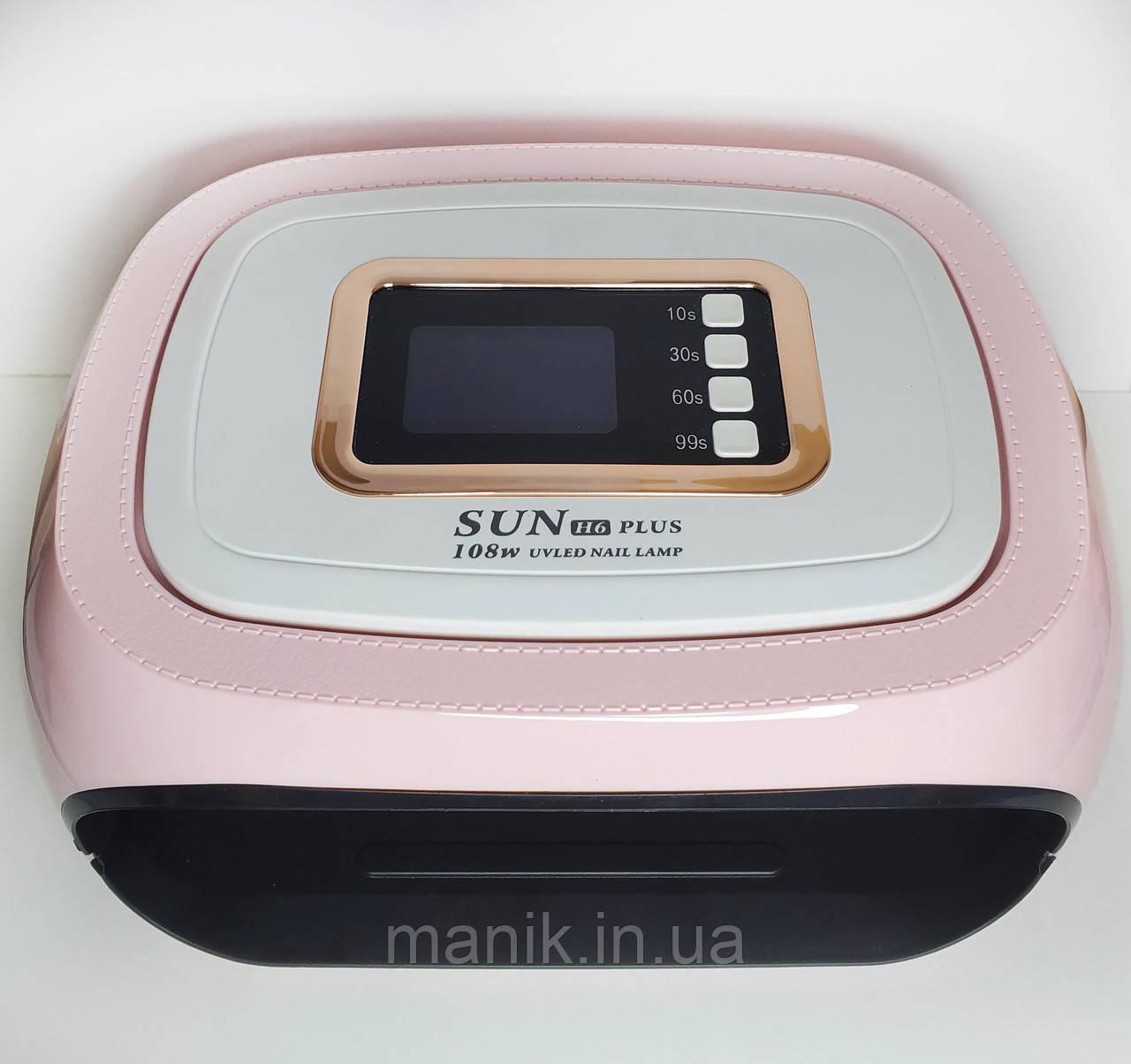 Гибридная лампа для ногтей UV LED SUN H6 Plus 108вт