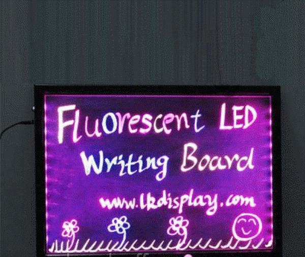 Рекламная светящаяся LED доска 300х400