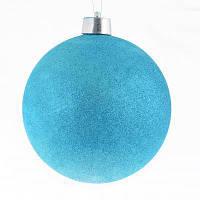 Елочная игрушка YES! Fun Шар d-25 см голубой глиттер (973241)