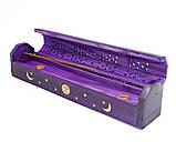9150249 Подставка под аромапалочки Шкатулка Фиолетовая, фото 2