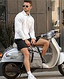 Модный мужской рюкзак роллтоп серый из эко-кожи - качественный кожзам, городской, для ноутбука, повседневный, фото 4
