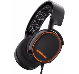 Комп'ютерна гарнітура SteelSeries Arctis 5 Black ігрові навушники