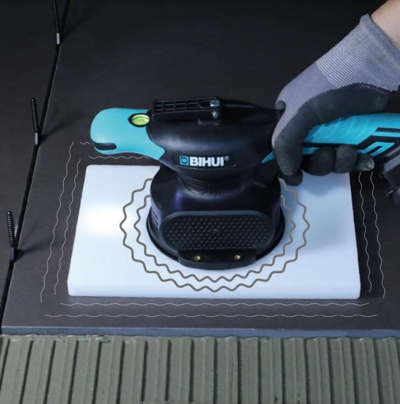 Виброприсоска для укладки плитки BIHUI 115мм.  35 кг