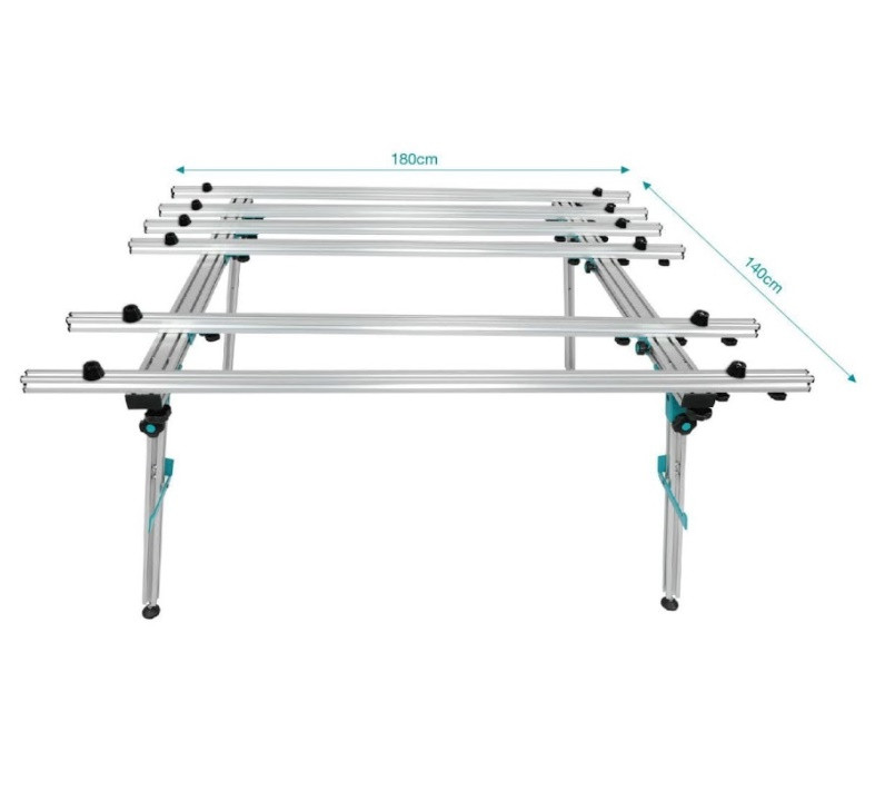 Стіл розкладний для великоформатних плит BIHUI 1800*1400мм