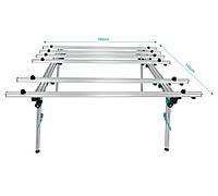 Стол раскладной для крупноформатных плит BIHUI 1800*1400мм