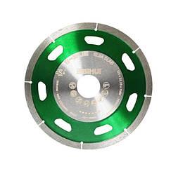 Диск алмазный BIHUI B-SLIM усиленный, 125*22,23*7*1,1 DCDS125 (зелёный)