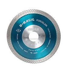 Диск алмазний BIHUI B-MAGIC посилений, 125 * 22,23 * 7 * 1,2 DSDW125 (синій)