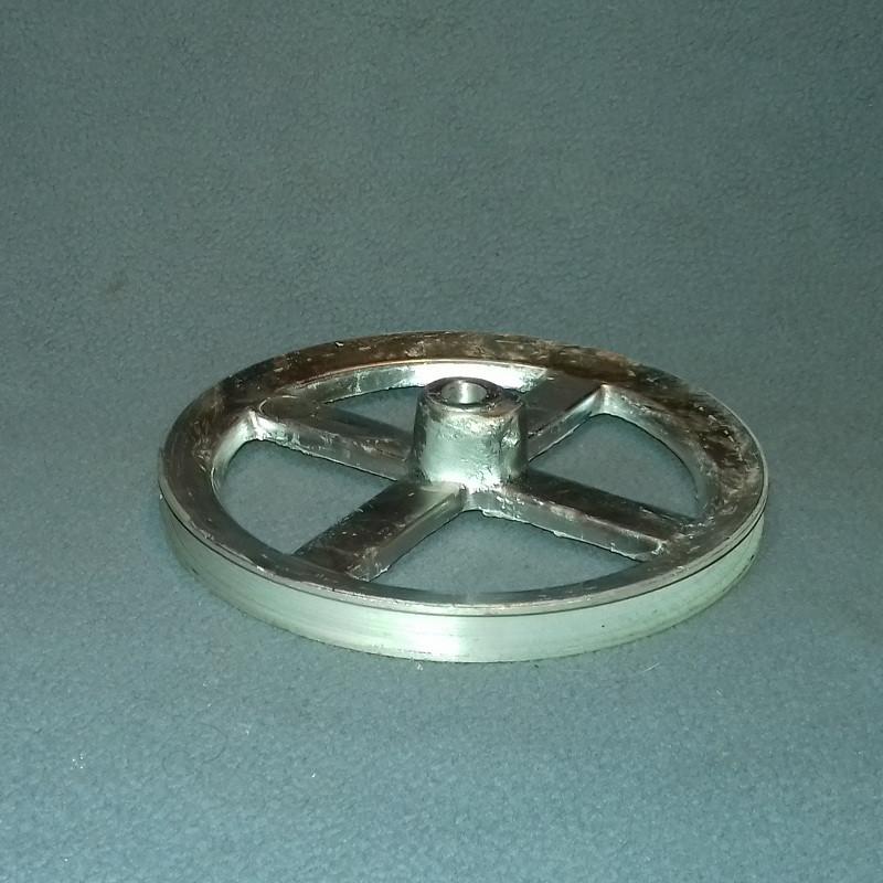 Алюмінієвий шків для пральної машини Рига (d=10/140мм)