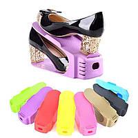 Двойные подставки для обуви (1 шт.) Double Shoe Racks LY-500 / Обувная подставка