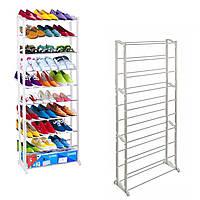 Полка для обуви на 30 пар Amazing Shoe Rack 51х24х140 см