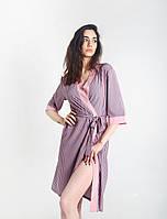 Халат шёлковый кимоно полоска. Размеры 42-50., фото 1