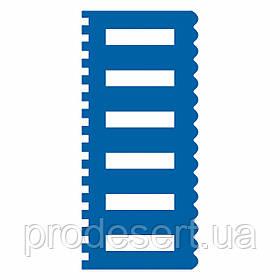 Шпатель 1 кондитерский текстурный 9*20 см (3D)