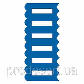 Шпатель 5 кондитерский текстурный 9*20 см (3D)