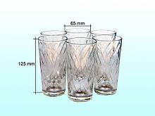 Набір стаканів Етюд (6х200мл) 05с1259 ОСБ