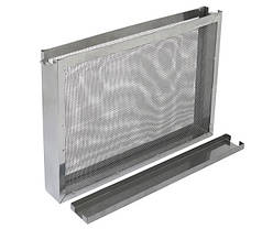 Изолятор сетчатый на 1 рамку Дадан (300 мм) оцинковка