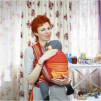 Спідниця для вагітних ДІЛОВА МАМА (синій, розмір XL), фото 1