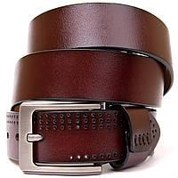 Ремень с дырками мужской Vintage 20381 Коричневый, фото 1